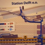 Delft: Stationsplattegrond. By Tom Kalse